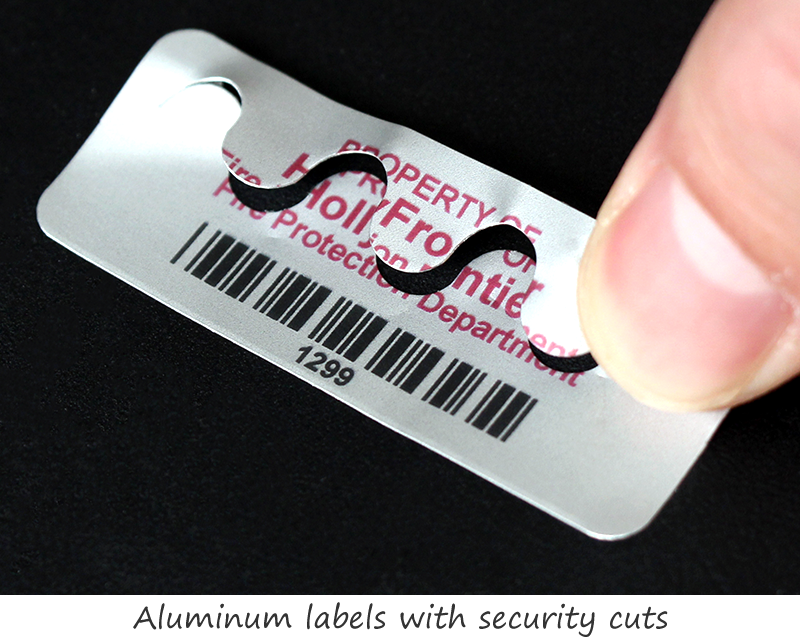It's just a picture of Peaceful Security Labels Asset Tagging