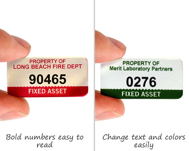 photograph regarding Printable Asset Tags referred to as et tag template -