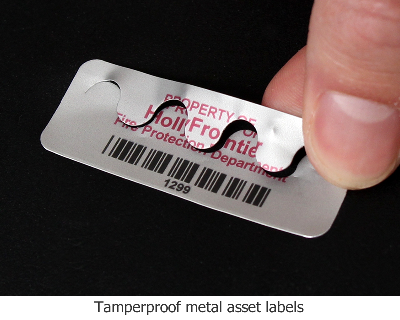 photo regarding Printable Tamper Proof Labels referred to as Tamperproof and Tamper Noticeable Asset Tags