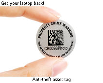 Anti-theft asset tag