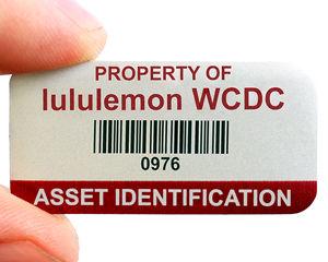 Asset Id Barcode