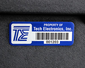Custom Labels, 0.75 Inch x 2.0 Inch