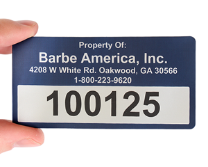 In X In Custom Rectangle Barcode Labels Barcode Tags - 2x4 inch label template