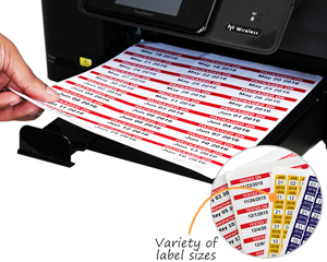 picture relating to Printable Label Sheets referred to as Laser Printable Barcode Label Sheets for Customized Barcode Labels