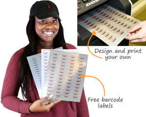 Free barcode labels