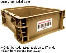 Large Asset Labels