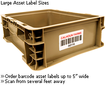 Large Asset Labels