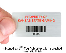 Low cost asset tags