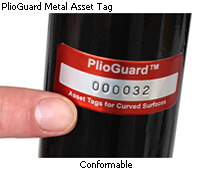 Conformable asset tag