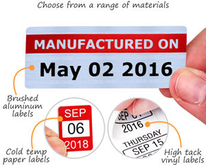 Choose from a range of materials