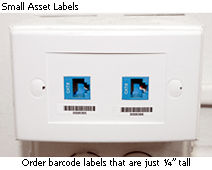 Small Asset Labels