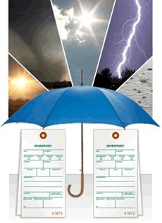 Weatherproof Inventory Tags
