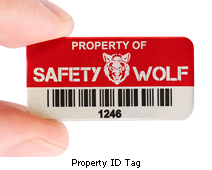 What is a property id tag