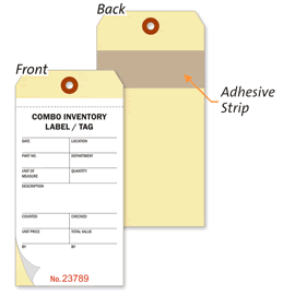 Combo Inventory Tags