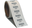 Barcode Labels on a Roll