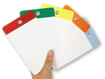 Blank Self-Laminating Inventory Tags