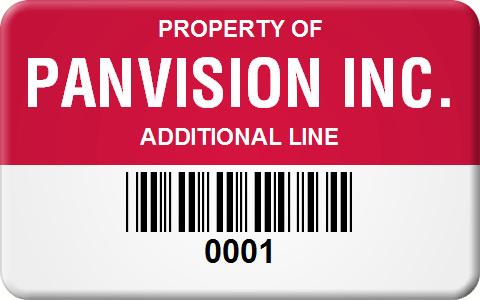 large metal barcode label templates 1 25 x 2