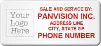 Asset Label, Sale and Service by Company Name, Phone Number