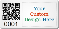 Create SunGuard QR Code Logo Asset Tags
