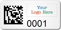 Create SunGuard 2D Barcode Logo Asset Tag