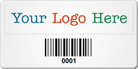 Create SunGuard Logo Barcode Number Asset Tags