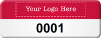 Custom Add Your Logo Tag with Numbering