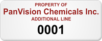 Custom Property Of Tag, Additional Line with Numbering