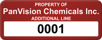 Custom Property Of Tag with Numbering, Additional Line