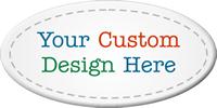 Custom Oval Asset Tags (Full Color)