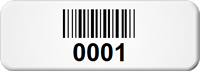 Create Small Barcode Numbering Asset Tags
