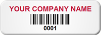 Custom Tamper Proof Barcode Seal Tag