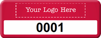 Add Your Logo Here Tag with Numbering