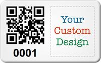 Design SunGuard QR Code Logo Asset Tags