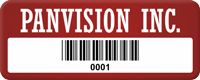 Design Your Company Name Tag with Barcode