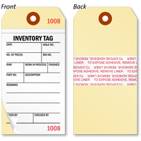 2-Part Inventory Tag