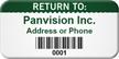 Custom Return To Asset Tag