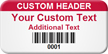 Custom Barcode Tag onmouseover =