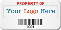 SunGuard Barcode Asset Label