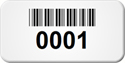 Custom Barcode Tags, 0.75