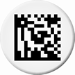 Custom 2D Barcode Circle Asset Tags