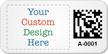 Custom 2D Barcode Asset Tag