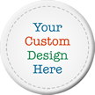 Circular Custom Asset Tags (Full Color)