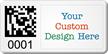 Create SunGuard 2D Barcode Logo Asset Tags