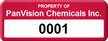 Create Property Tag with Numbering, Change Background Color