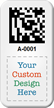 Create 2D Barcode Asset Tag