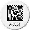Create Circular 2D Barcode Asset Tags