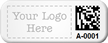 Create Small Metal 2D Barcode Tag with Logo