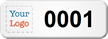Create Small Sequential Number Asset Tags with Logo