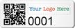 Custom SunGuard QR Code Logo Asset Tags