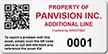 Custom QR Code Property Asset Tag